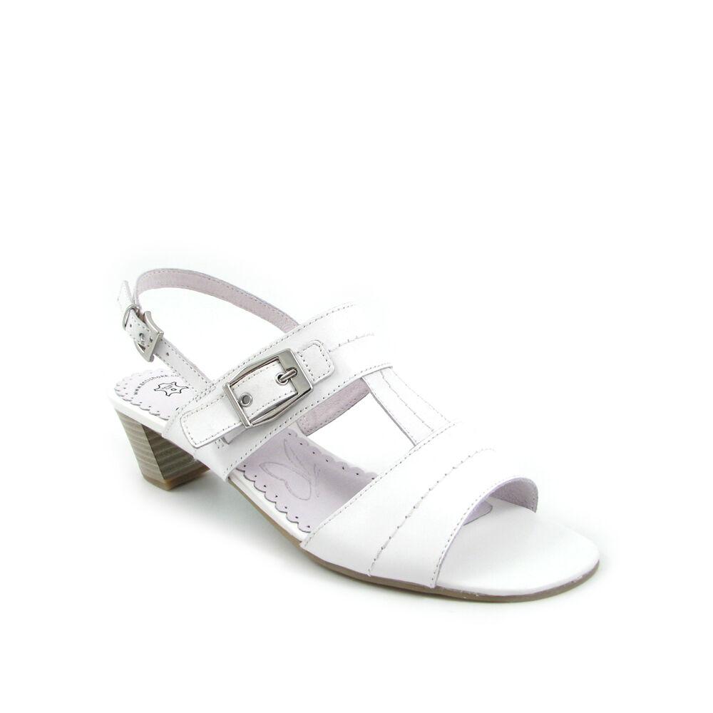 info for 3353d d0518 Caprice Sandaletten Weiss | 66% OFF im Outlet-Shop