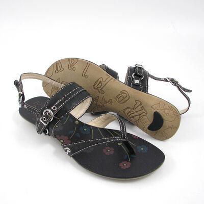 Replay Sandale Schwarz »Ioko« aus Leder