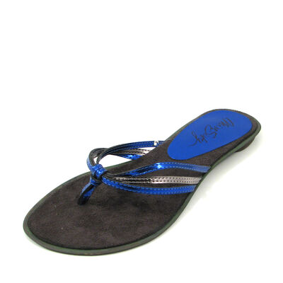 MISS SIXTY / Flip-Flops »Ilara« Blau/Silber