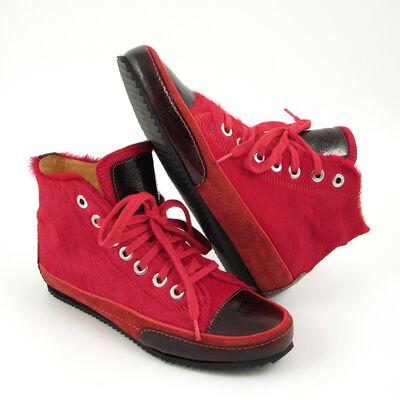 VALMY MODA Fell-Bootie Rot Hi-Sneaker