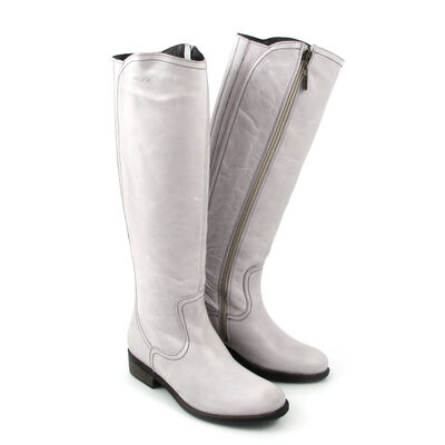 MEXX Stiefel »Base« Weiss-Used (Off White)