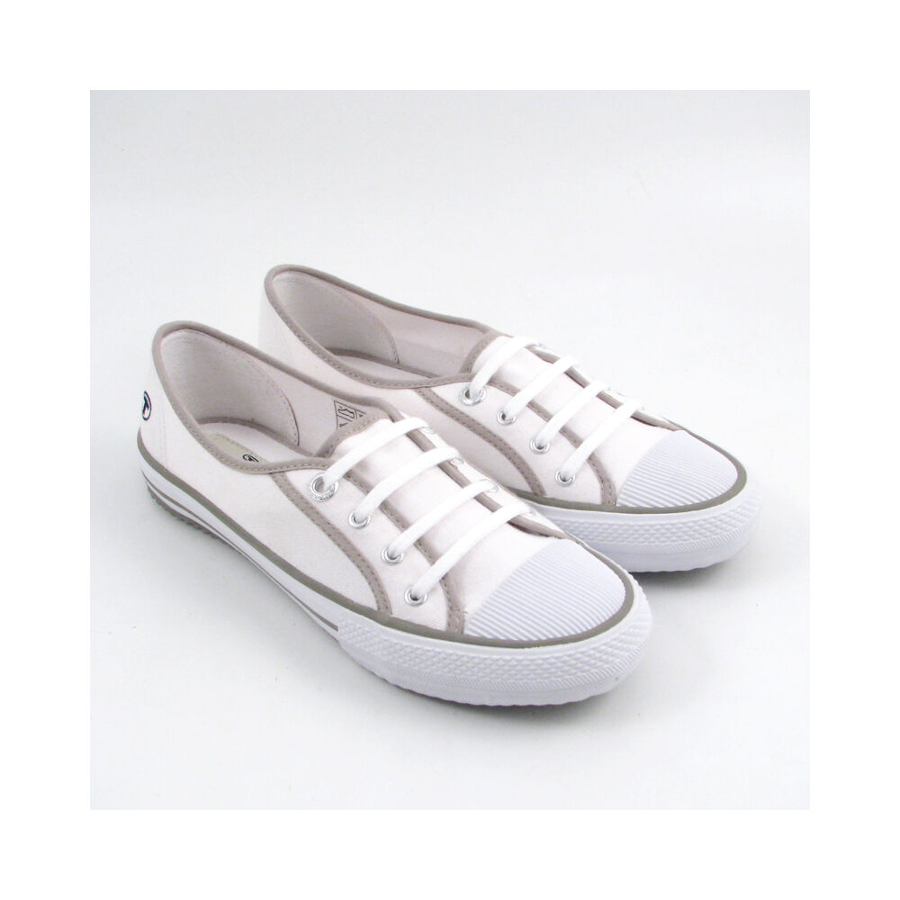 tom tailor sneaker canvas leinen weiss white 53 off im outlet. Black Bedroom Furniture Sets. Home Design Ideas