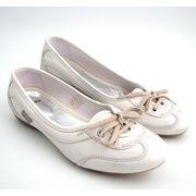 MEXX Leder-Ballerina Weiss Mod. »UNIQUE«