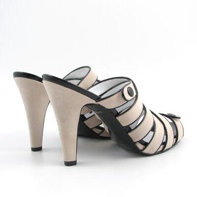 MISS SIXTY / High-Heel-Pantolette »NOEMI« Beige
