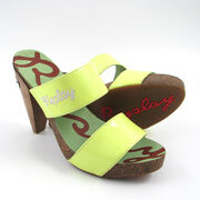 Replay Pantolette Gelb/Neon - Floral Yellow