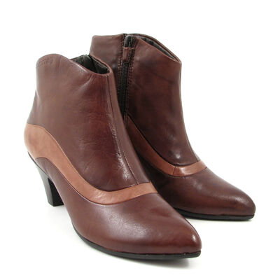 comma Ankle Boots Mocca/Camel - Braun/Hellbraun