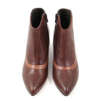 comma / Ankle Boots Mocca/Camel - Braun/Hellbraun