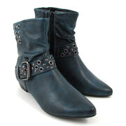 Marco Tozzi Ankle-Boots Petrol Antic, Stiefelette