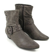 Marco Tozzi Stiefelette Grau-Stone, Ankle Boots