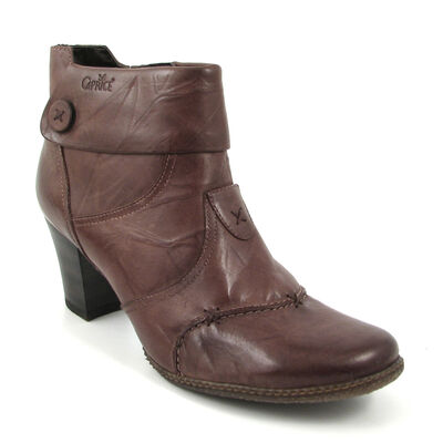 Caprice Stiefeletten Braun-Pepper Ankle Boots