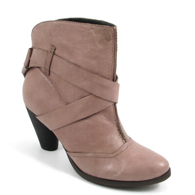 s.Oliver Ankle Boots Taupe-Beige - Stiefelette Leder