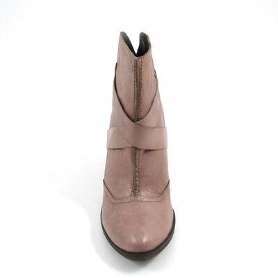 s.Oliver / Ankle Boots Taupe-Beige - Stiefelette Leder