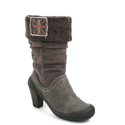 s.Oliver Fell-Stiefel Grau - Boots Pepper