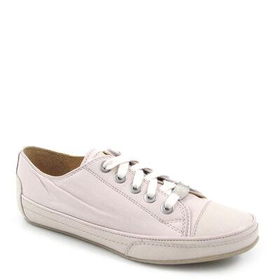 VALMY MODA / Sneaker Beige-Creme-Weiss - italienische Leder-Schnürschuhe