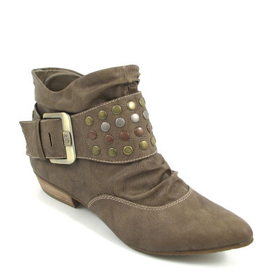 s.Oliver Ankle Boots Camel Antic - Stiefelette Braun