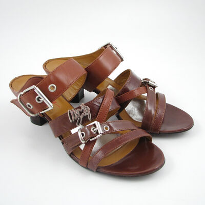MISS SIXTY Pantolette Hellbraun/Braun SAMMY - Sandaletten