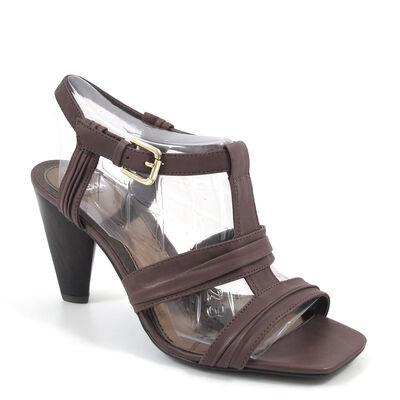 MEXX Sandalette Braun - Elegante Sandaletten Dunkelbraun günstiger