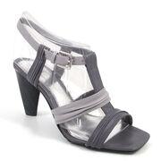 MEXX Sandalette Grau - High-Heel Sandale EVELYN Outlet-Preis!