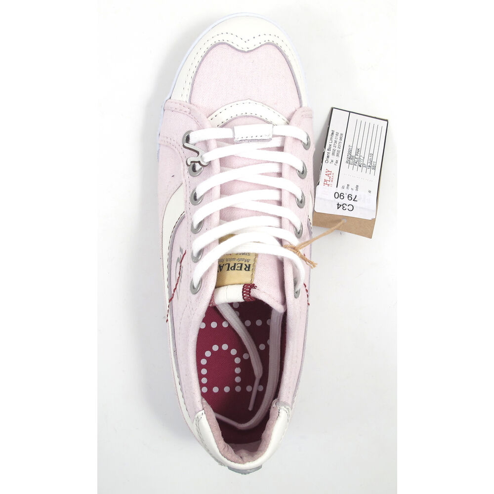 replay elise pale pink sneaker rosa 43 off im outletshop