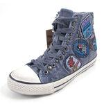 REPLAY Sneaker BOOK PATCH Blau