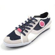 REPLAY ELENA WHITE NAVY - Sneaker weiss blau