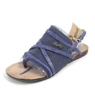 REPLAY RIFS NAVY- Sandale Blau