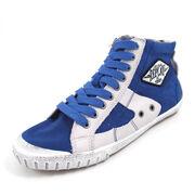 REPLAY WAS CANVAS ROYAL - High Sneaker Royal Blau