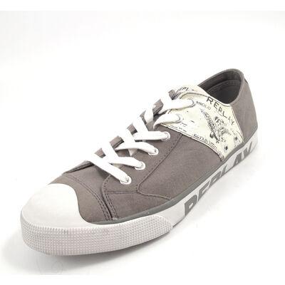 REPLAY LEVIED Lt  GREY - Sneaker Grau