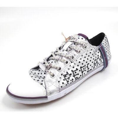 REPLAY BRIDGETTE PERFED SILVER - Sneaker Silber