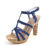 REPLAY Sandalette ZAMBIA Blau