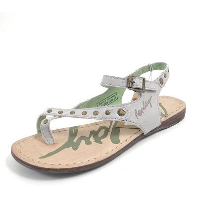 REPLAY ETTIE GREEN - Sandale Grau