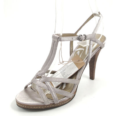 REPLAY KELSI PLATIN - Sandalette Platin