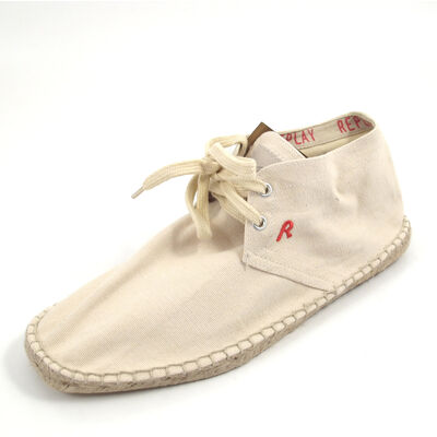 REPLAY FRONT OFF_WHT - Slipper Weiss