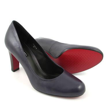 27609fcddc8bb2 Belmondo Pumps Lila (Prugna) - High-Heels - rote Sohle