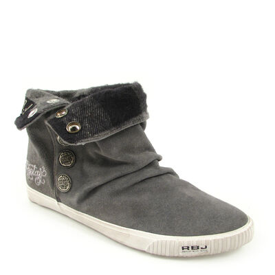Replay Damen Boots LEITH Grau - Stiefelette günstig