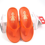 LO Badesandalen Damen Orange - Badeschlappen günstig