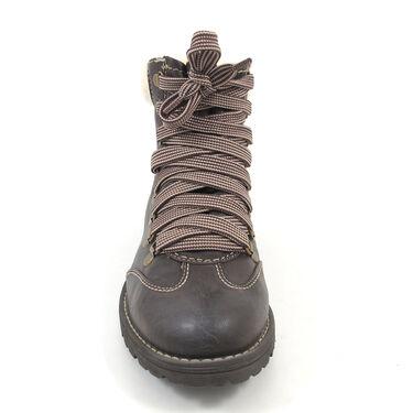 on sale 5f664 19717 s.Oliver Boots Braun - Trekkingstiefel Dunkelbraun-Mocca ...
