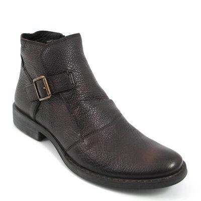 BELMONDO Boots Dunkelbraun Stiefelette