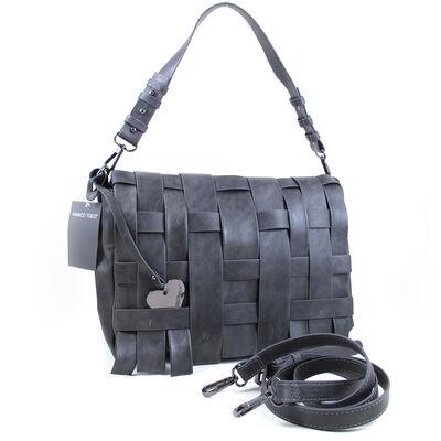 Marco Tozzi Bags Handtasche Dunkelgrau, Crossbody Bag Dark Grey Antic