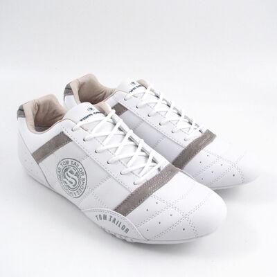 Tom Tailor Sneaker Weiss Herrenschuhe