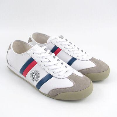 Tom Tailor Sneaker Weiss/Blau/Rot