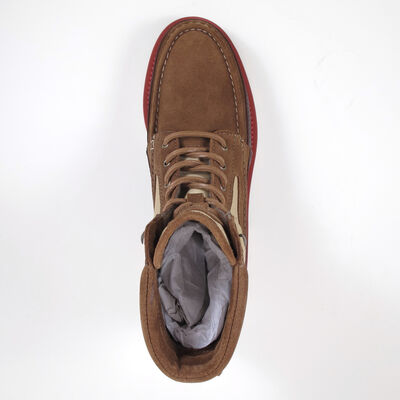 SCOTCH & SODA / AVION COGNAC - Boots/Schnürstiefel Braun-Beige
