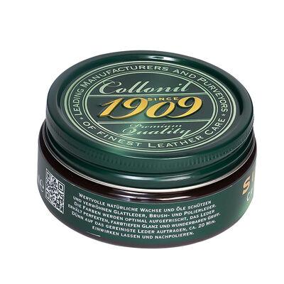 Collonil 1909 Creme de Luxe Dunkelbraun Schuhcreme Supreme, Tiegel